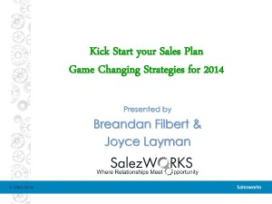 Your Sales Plan Kick Start